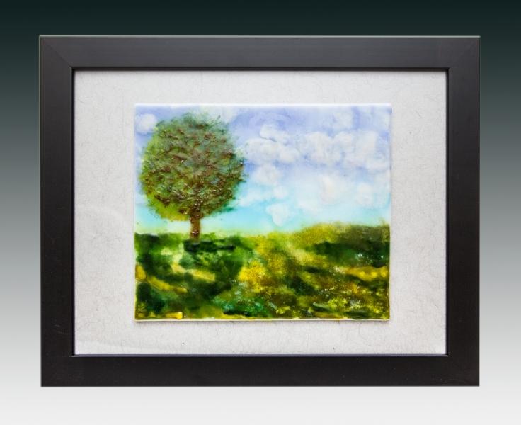 tree in field gradient